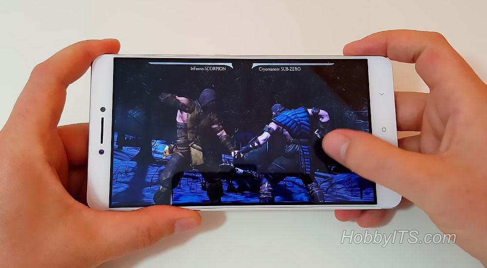 Игра MORTAL KOMBAT X на смартфоне Xiaomi Mi Max