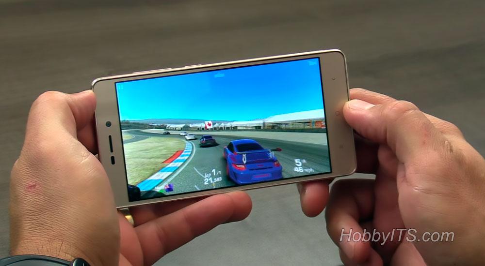 Гонка на смартфоне Xiaomi Redmi 3S