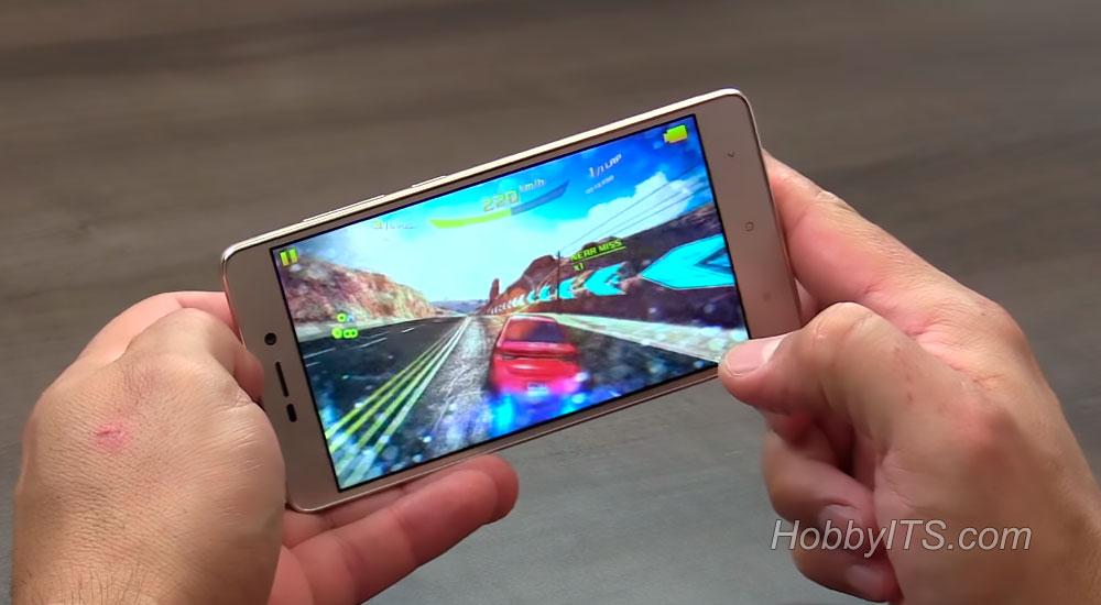 Asphalt 8 на смартфоне Redmi 3S идет без проблем