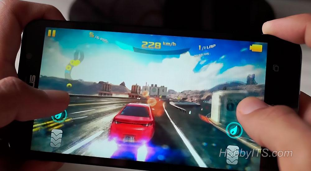 Игра Асфальт 8 на телефоне Zenfone 2 DELUXE