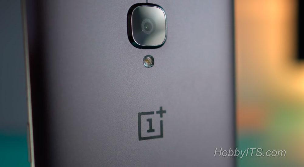 Камера, вспышка и микрофон для шумоподавления на OnePlus 3T
