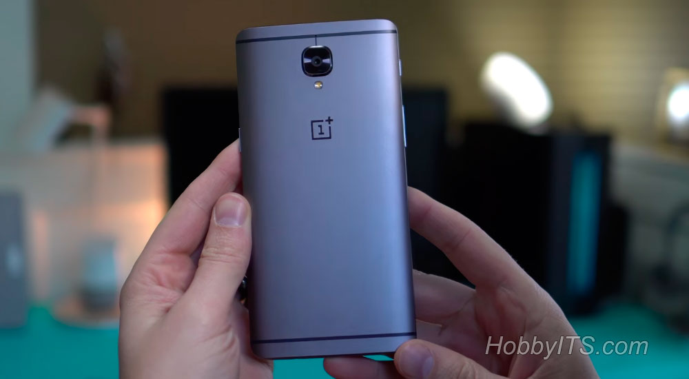 Тыльная сторона смартфона OnePlus 3T