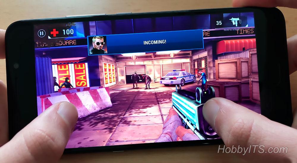 Игра Dead Trigger 2 на смартфоне UMI Plus