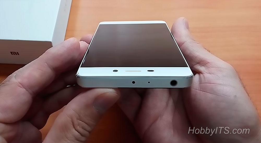 jack 3.5 мм, микрофон, ИК-порт на Xiaomi Redmi 4