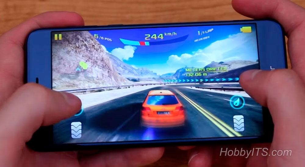Демонстрация игры на Huawei Honor 8