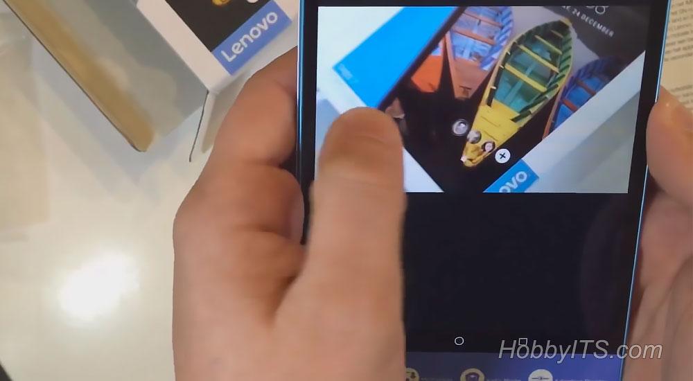 Галерея на планшете Lenovo TAB3 7