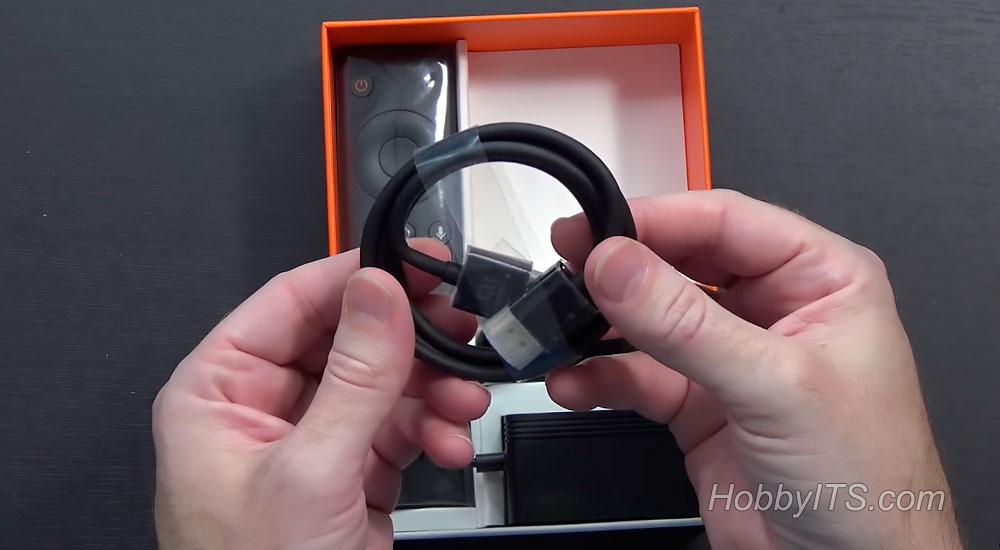 Комплектация телевизионной приставки Original Xiaomi Mi Android TV