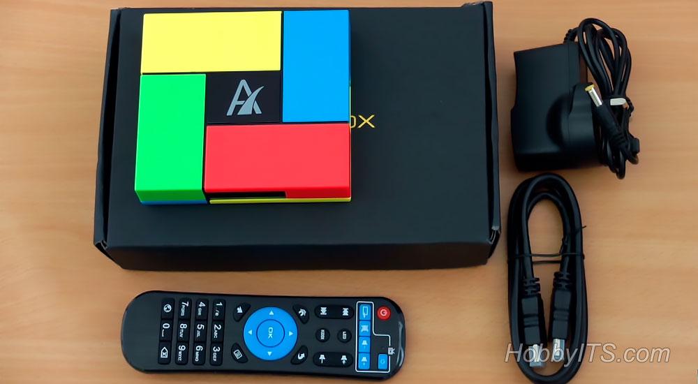 Что входит в комплект поставки Smart TV Box Sunvell T95K Pro