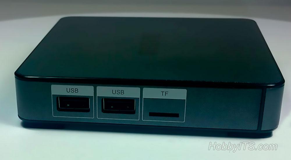 USB и TF порты MECOOL BB2 PRO