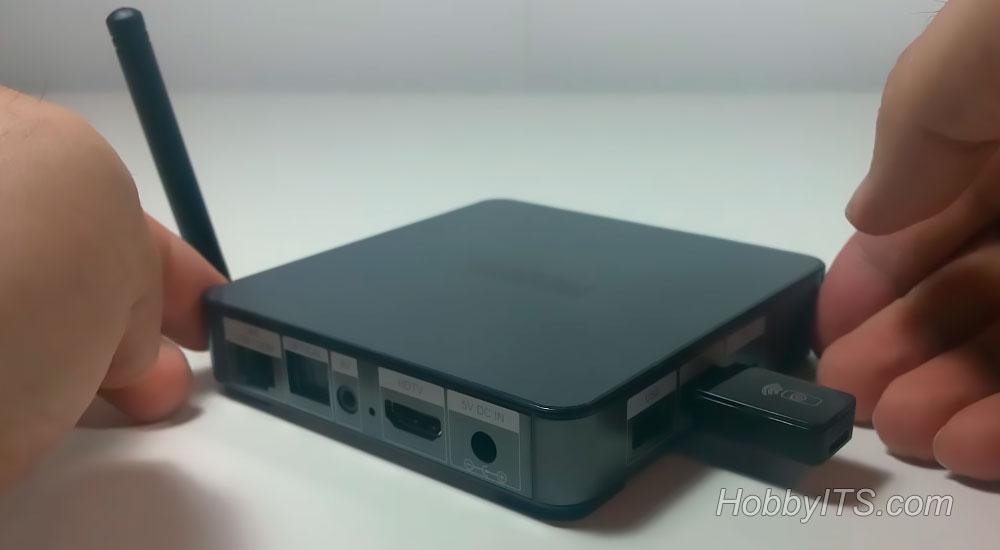 Подключение USB-флешки к телевизионной приставке MECOOL BB2 PRO