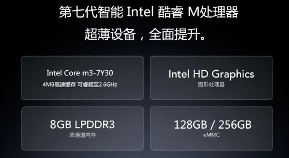 Объем ОЗУ и ПЗУ на планшете Xiaomi Mi Pad 3