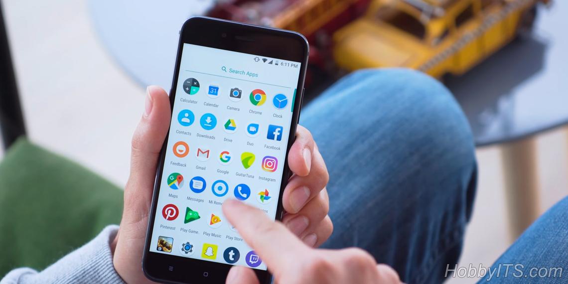 Аппарат имеет поддержку сервисов Google