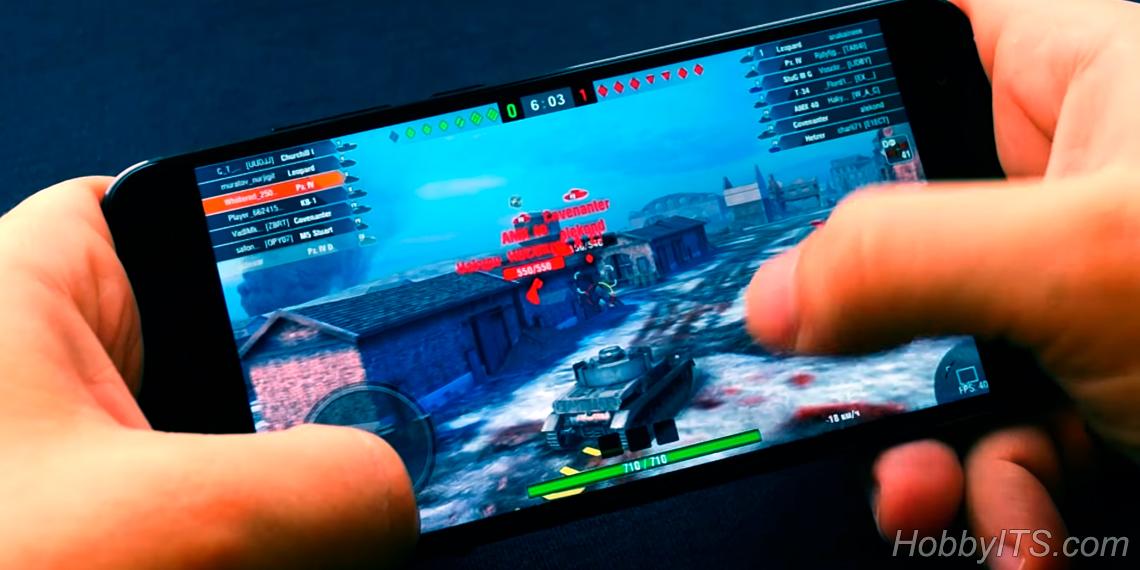 Тяжелые игры на Xiaomi MI A1