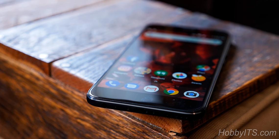 Xiaomi Mi A1 в благородном матовом черном цвете