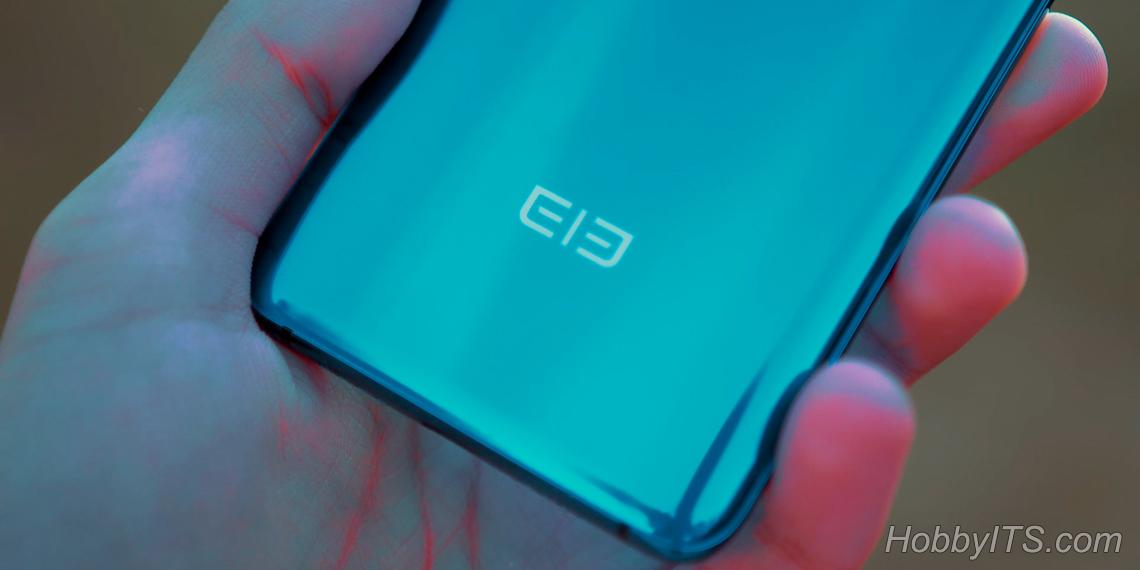 Индикатор в виде логотипа Elefone