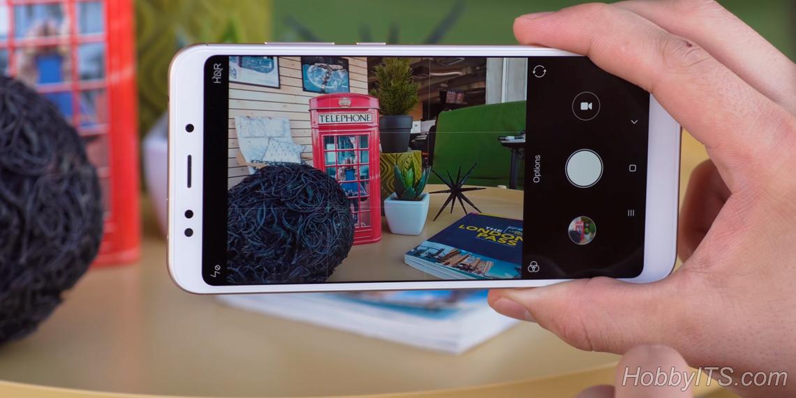 Основная камера Xiaomi Redmi 5 Plus