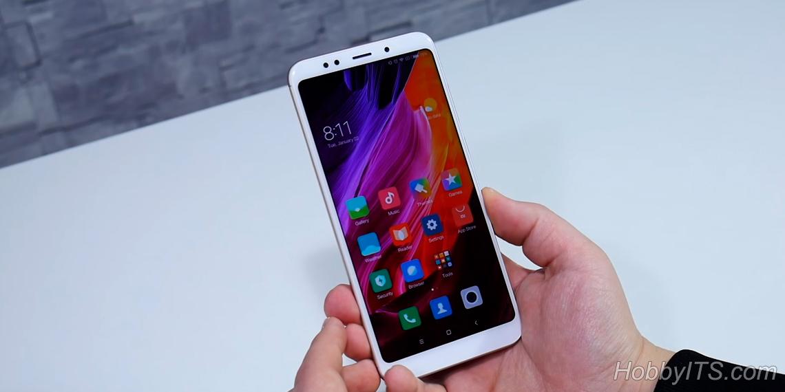 Экран смартфона Xiaomi Redmi 5 Plus