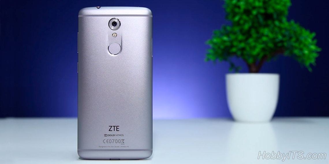 Моноблочный алюминиевый корпус ZTE Axon 7 Mini