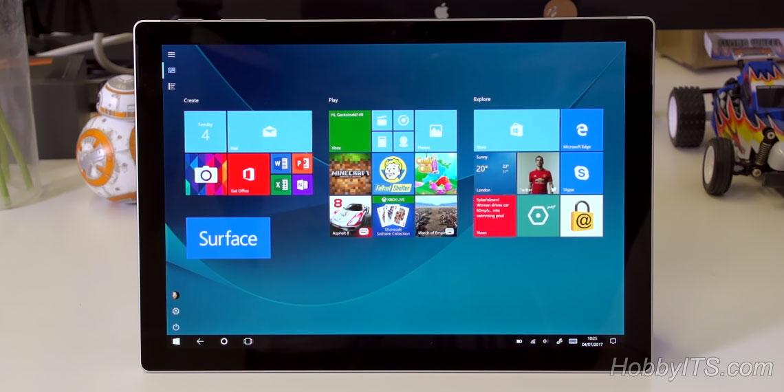 Экран Pixel Sense в 12.3 дюйма на Surface Pro (2017)
