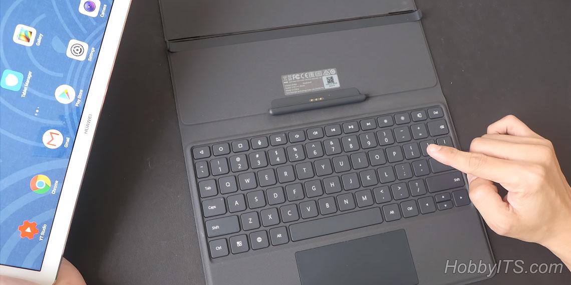 Чехол-клавиатура M5 Folio для MediaPad M5 Pro
