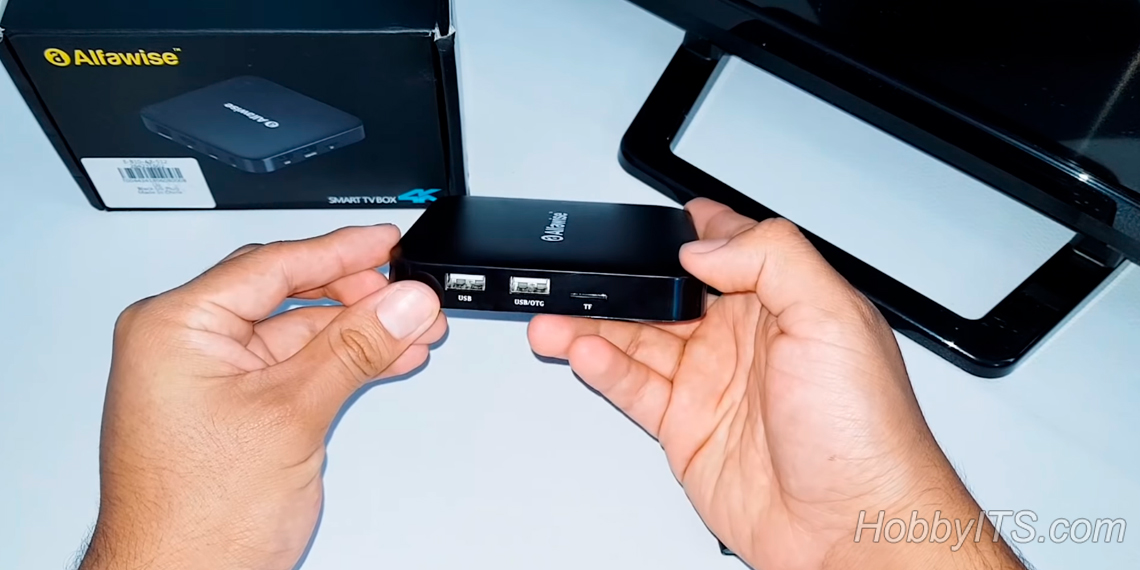 Внешний вид приставки Alfawise Z1 TV BOX