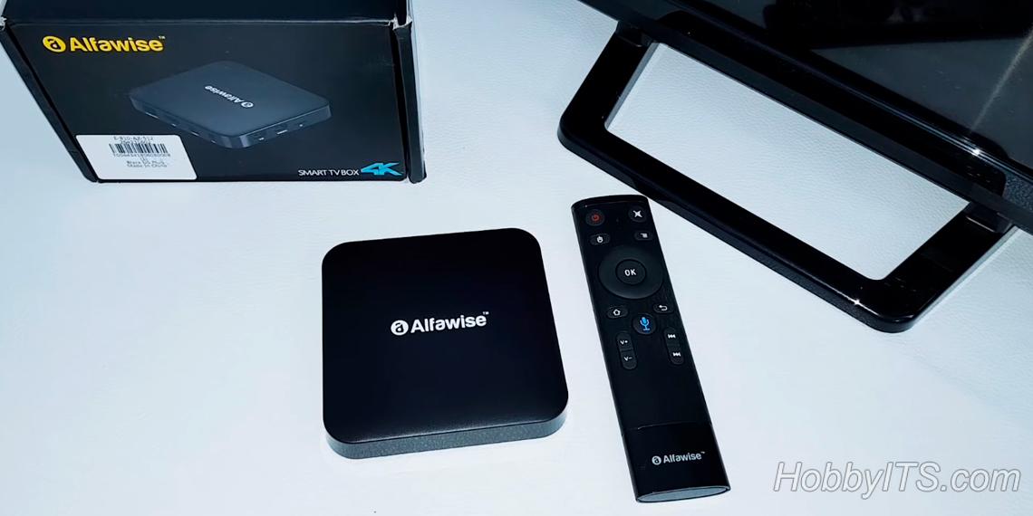 Обзор Alfawise Z1 TV BOX