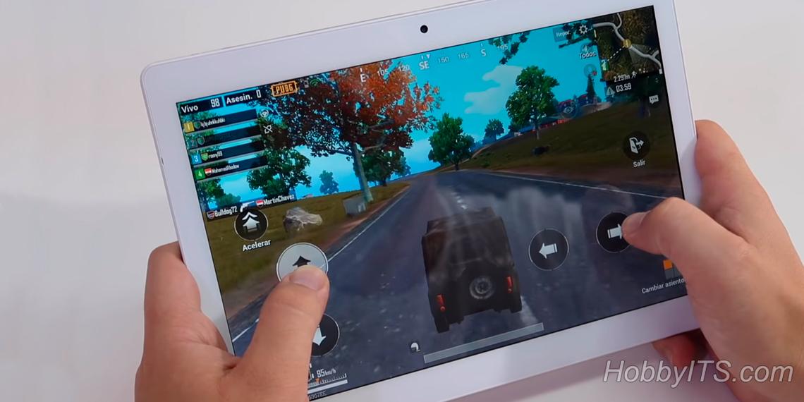 Планшет ALLDOCUBE M5 4G можно использовать в качестве игровой платформы