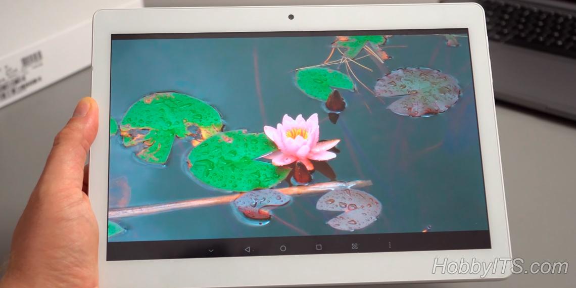 Внушительный по размерам экран ALLDOCUBE M5 4G
