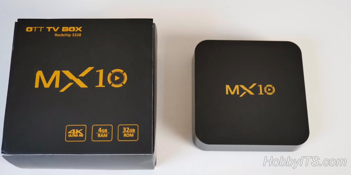 Внешний вид ТВ-бокса MX10