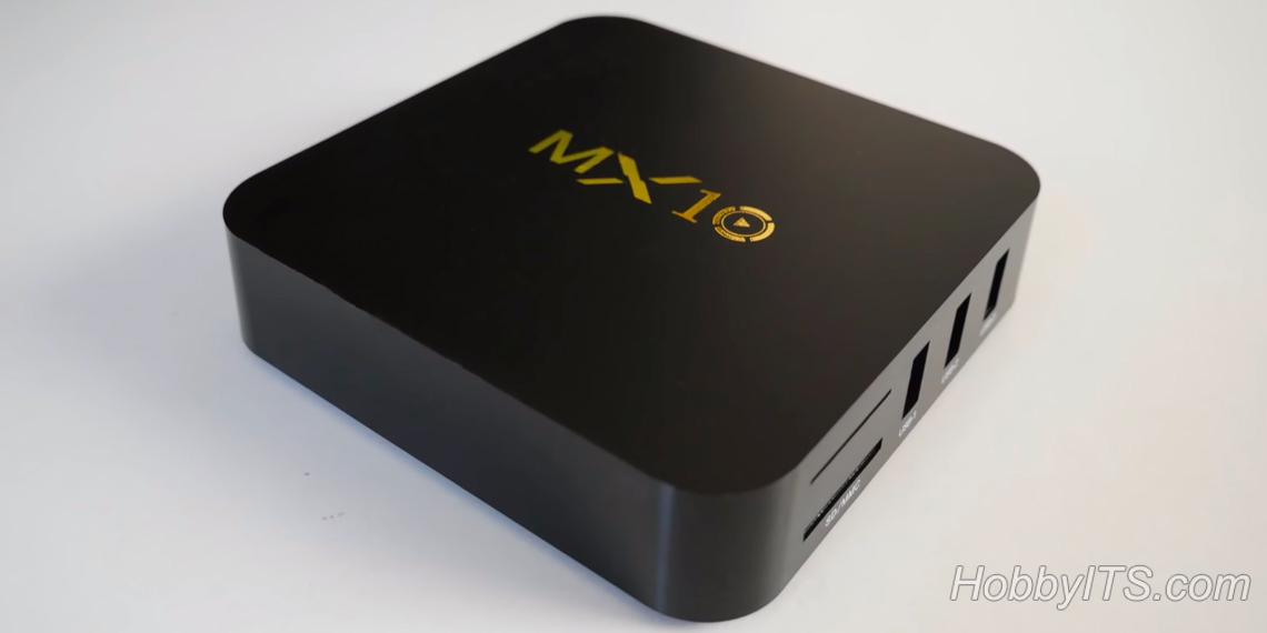 Внешний вид MX10 TV Box