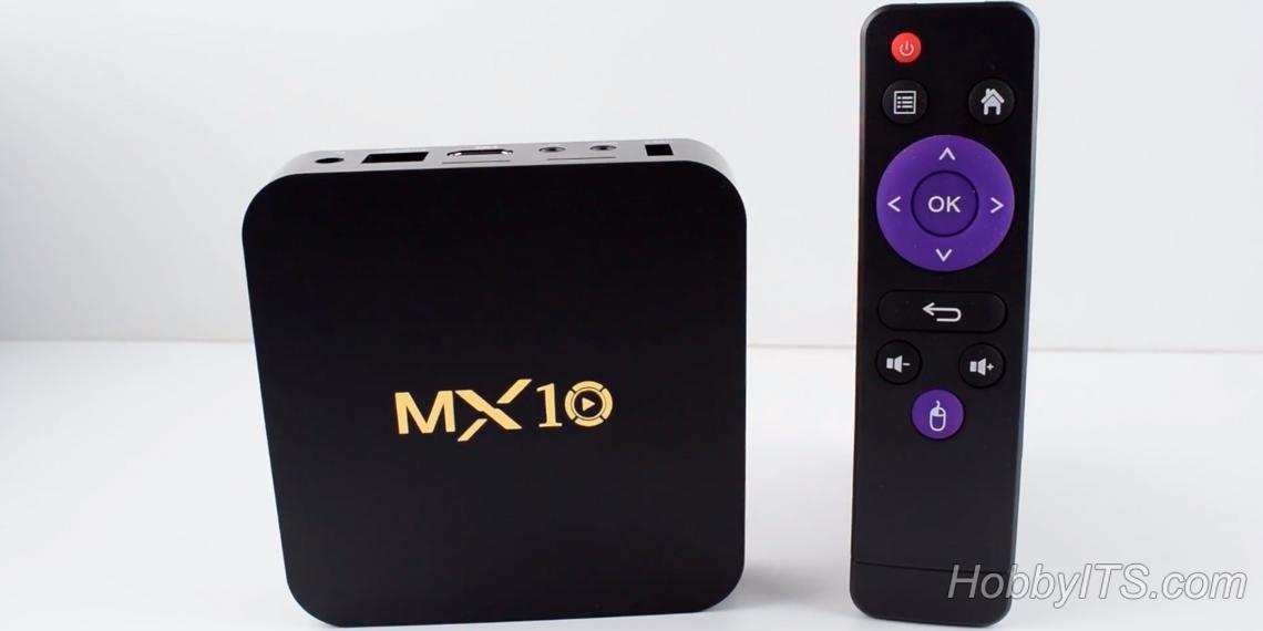 Обзор на ТВ-бокс MX10 TV Box