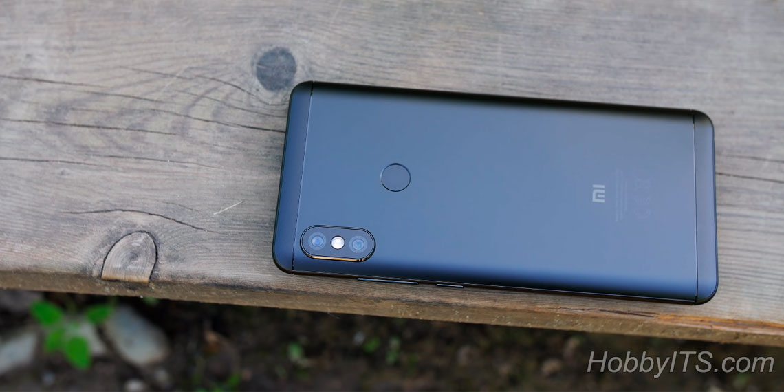 Сканер отпечатка пальцев Xiaomi Redmi Note 5