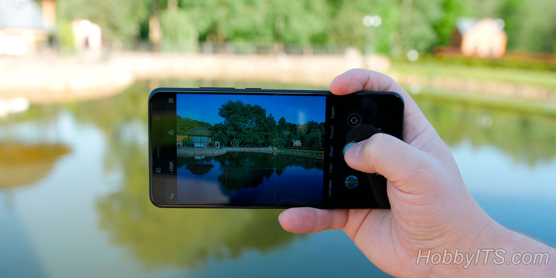Сдвоенная камера на Xiaomi Redmi Note 5