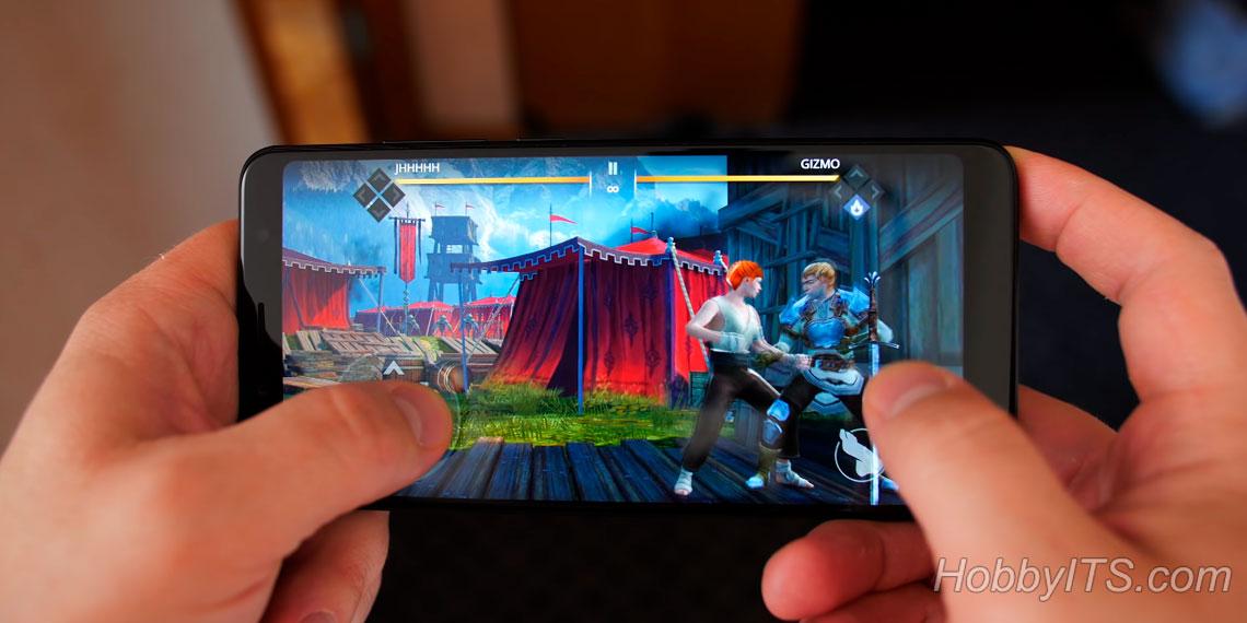 Файтинги на Xiaomi Redmi Note 5