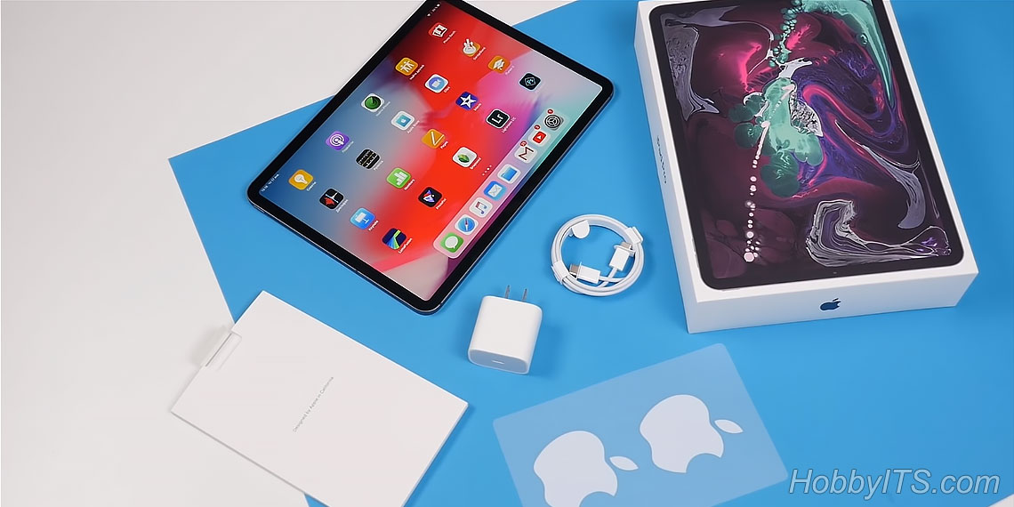 Что входит в комплектацию Apple iPad Pro 11