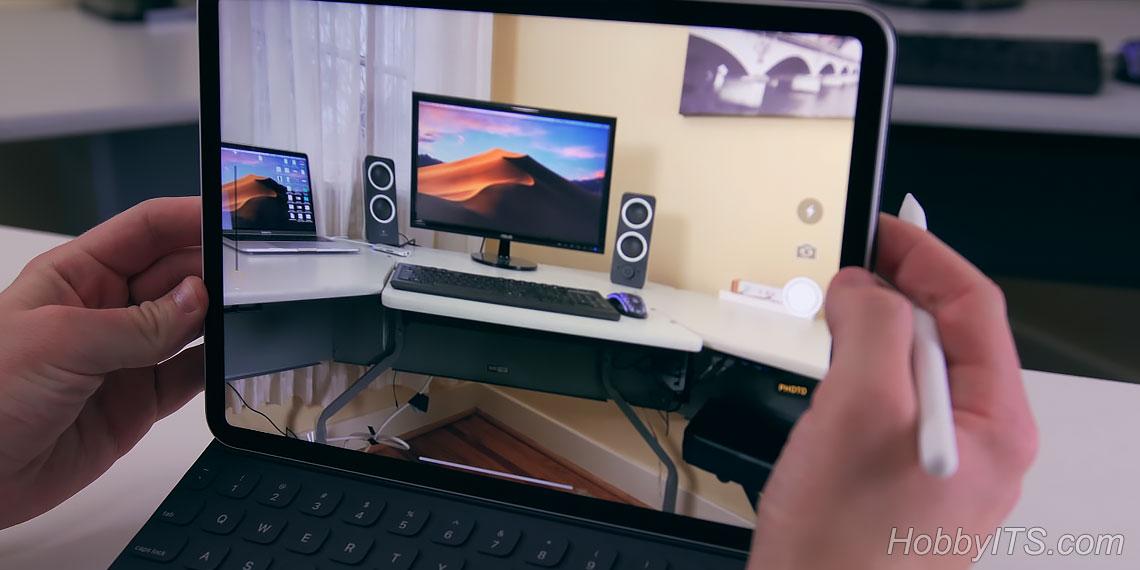 Снимки на iPad Pro 11 более детализированные