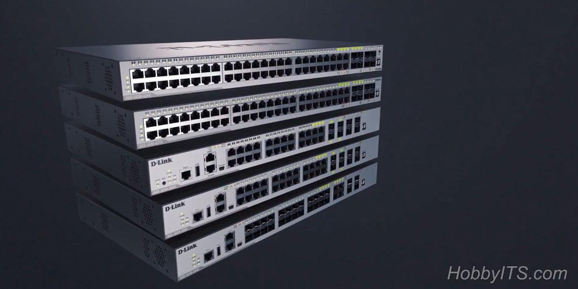 Сетевые коммутационные устройства торговой марки D-Link