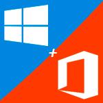 Активация Windows 10 + пакет приложений Office