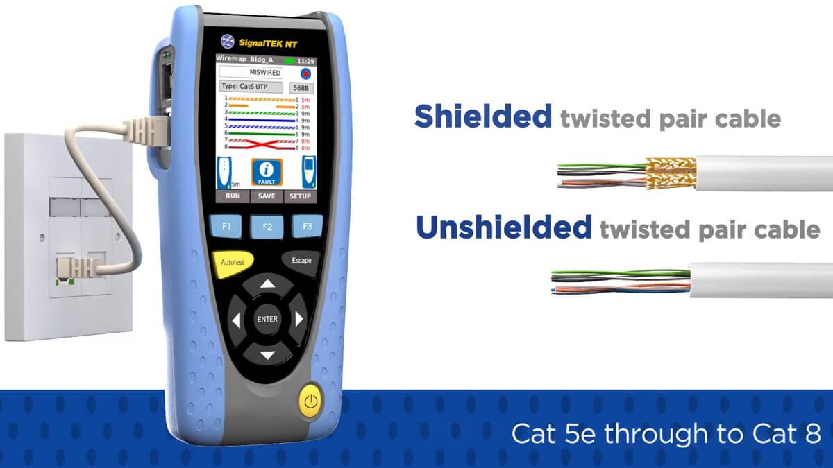 Экран витой пары является неким защитным слоем, предотвращающим появление помех от внешних источников